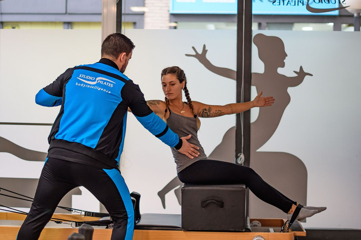 pilates maquinas reformer instructor studio pilates Madrid bonpilates